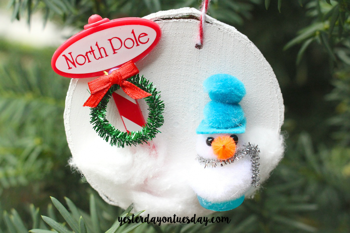 One to pin! 31 Handmade Christmas Ornament Ideas: Each day a different blogger shares their handmade ornament idea.