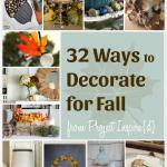 32 Inspiring Fall Decorating Ideas