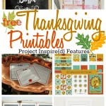 Six Free Thanksgiving Printables shared at Project Inspire{d}