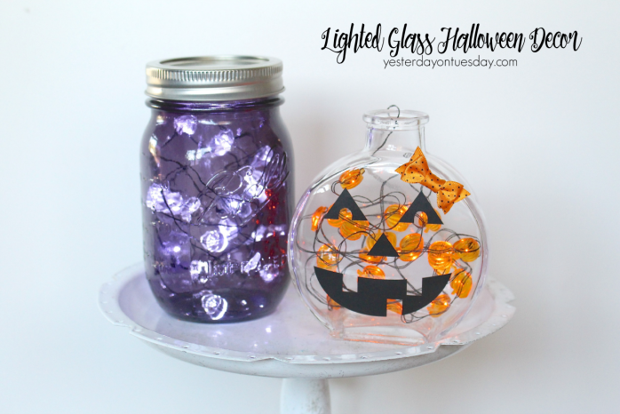 Great ways to brighten up your Halloween decor with lights