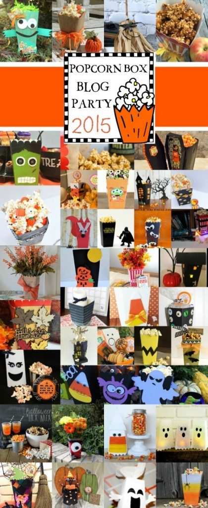 More than 50 creative ways to decorate a popcorn box for Halloween