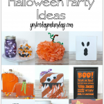 Spooky Halloween Party Ideas including treats, decor, subway art and more!