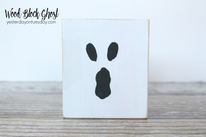 Create a ghost from a wood block