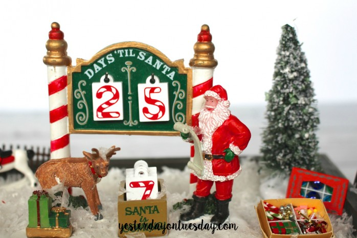 Christmas Trees on Cars Countdown Calendar: A cute and mobile calendar for counting down to Christmas! Delightful holiday decor.