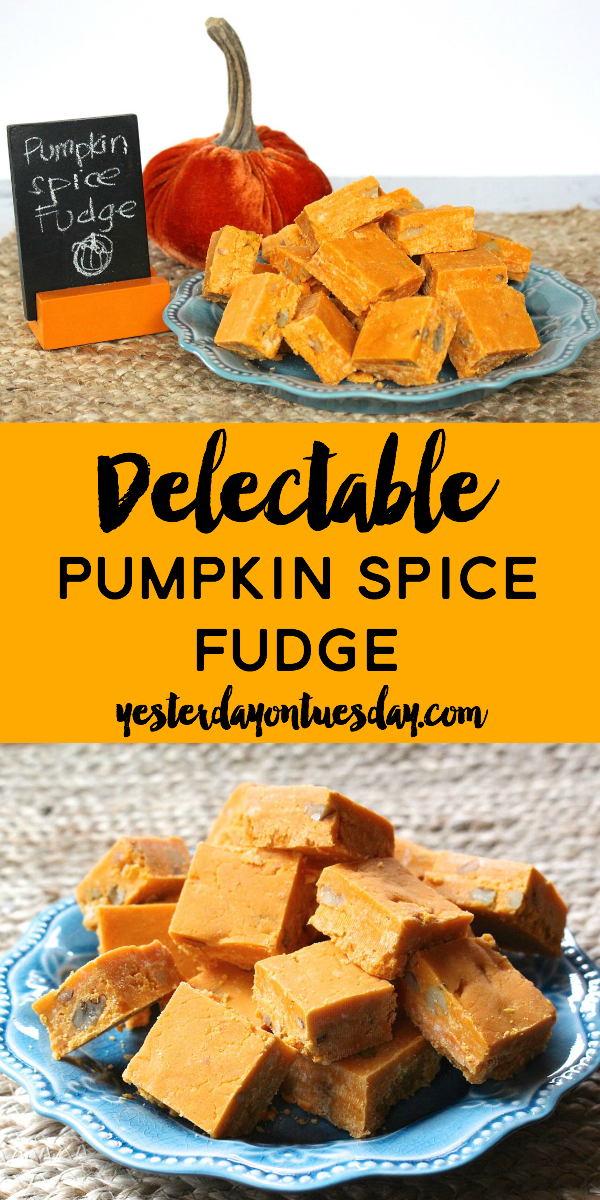 Delicious Pumpkin Spice Fudge Recipe, a great treat for Thanksgiving and the holiday season. Makes a wonderful homemade gift too! @verybestbaking