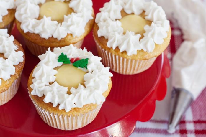 Dole Pineapple Cinnamon Cupcakes, a wonderful holiday dessert