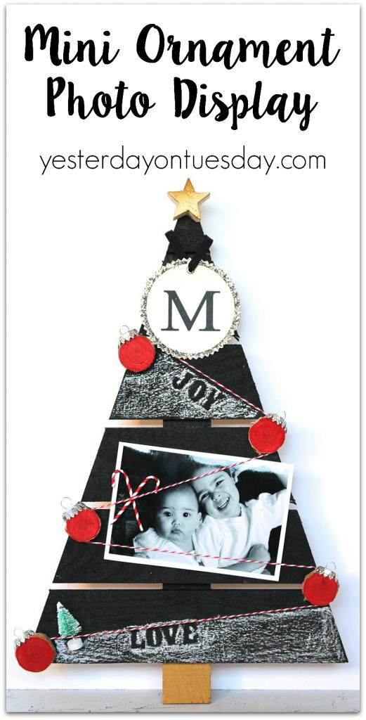 Mini Ornament Photo Display