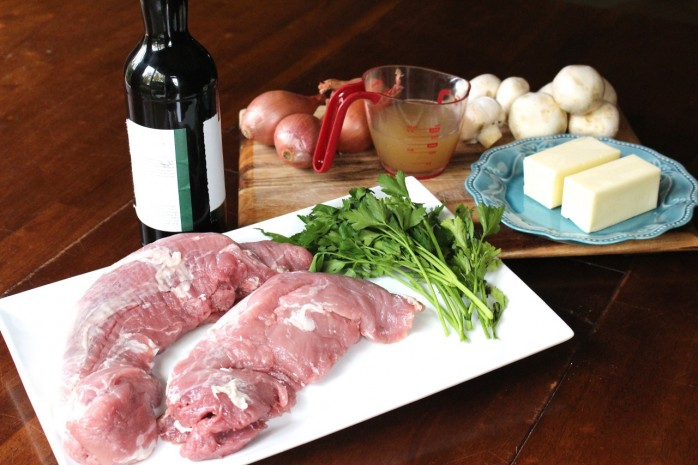 Delicious Pork Medallions with Marsala Sauce, a wonderful dinner for Thanksgiving or any time!