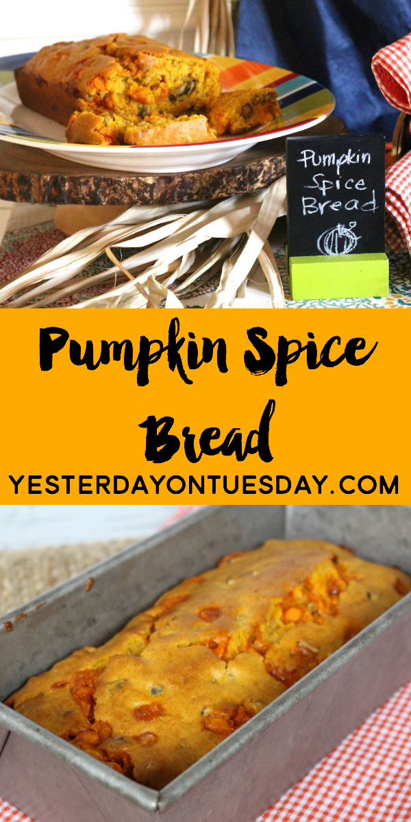 Yummy Pumpkin Spice Bread Recipe, satisfying comfort food for the holidays! Makes a great gift as well @verybestbaking
