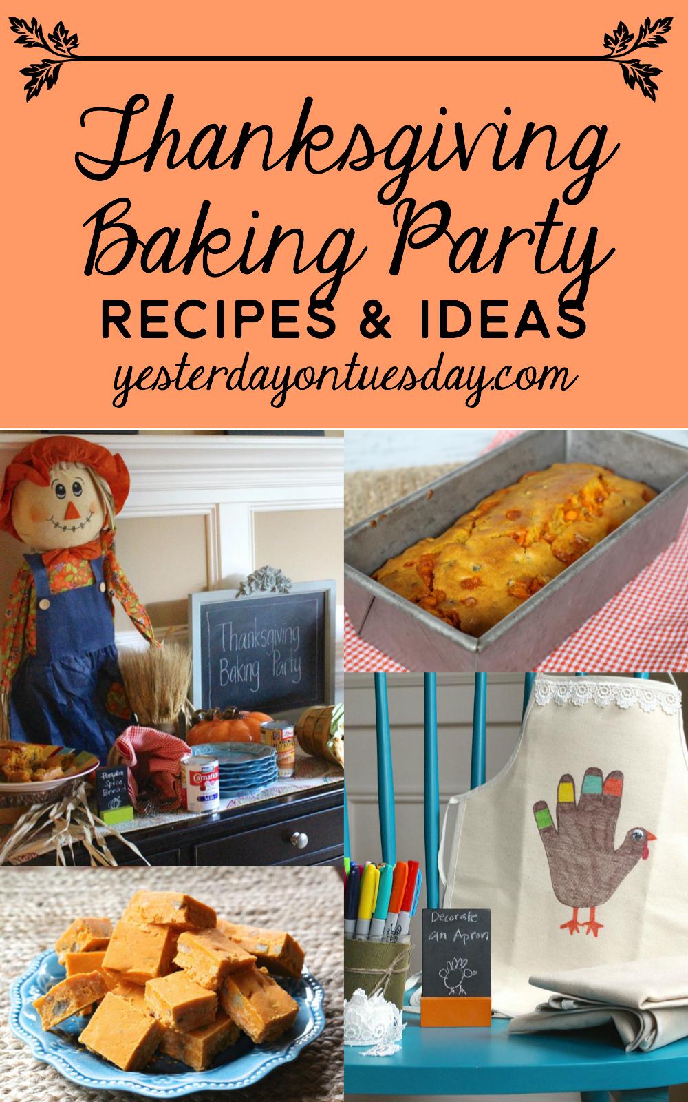 Thanksgiving Baking Party