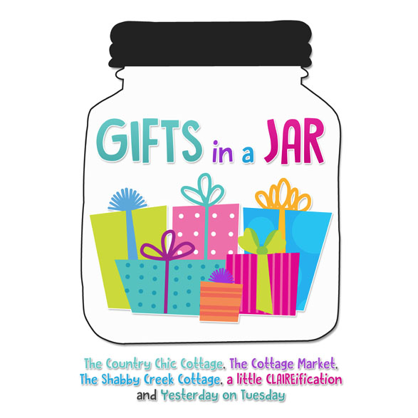 Gifts in a Jar Week, 25 awesome gifts in jar ideas for everyone on your list