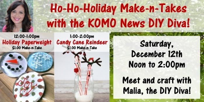 Ho-Ho-Holiday Make-n-Takes Hero