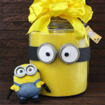 DIY Minion Lover's Gift in a Jar, a fun present for that Despicable Me and Minion movie fan. Plus free printables!