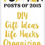 My Top 10 Posts of 2015