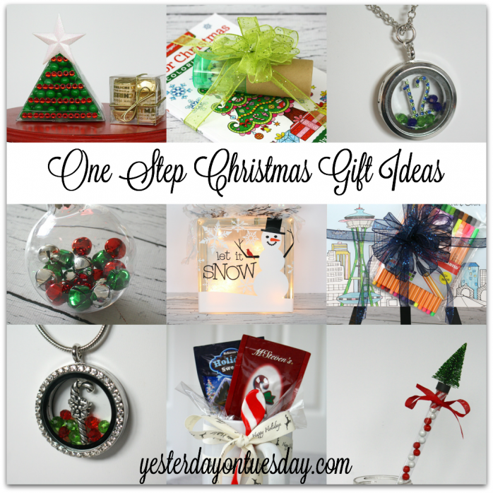Gift Ideas For The 12 Days Of Christmas: One Step Christmas Gift Ideas