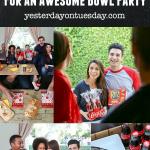A fun list of 10 Do's and Don't for Being a Great Home Bowl Party Guest