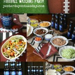 5 Tips for Throwing the Ultimate Football Watching Party, great party planning tips for the NFL payoff season.
