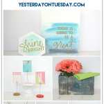 Easy DIY and decor ideas using the Pantone 2016 Spring Colors