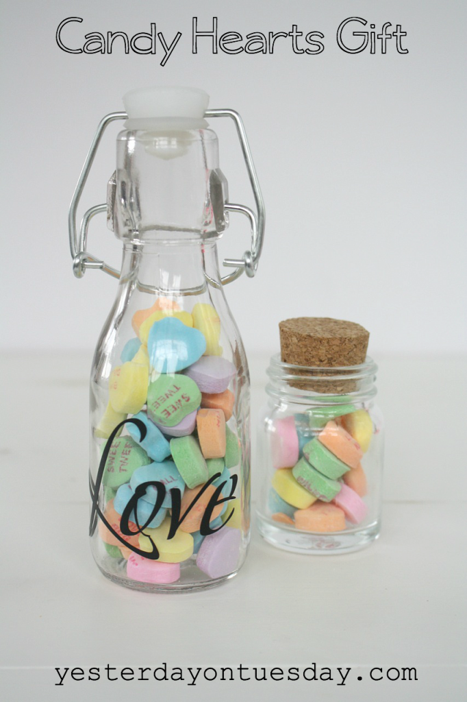Candy Hearts Gift