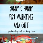 Printable Fish Valentines and Gift, great for teachers and friends!