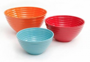 Pioneer Woman 3 Piece Ceramic Mixing Bowl Set, one of my must-haves for January.