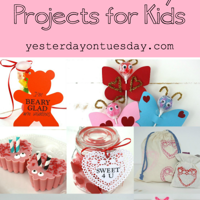 Sweet Valentine's Day Projects for Kids