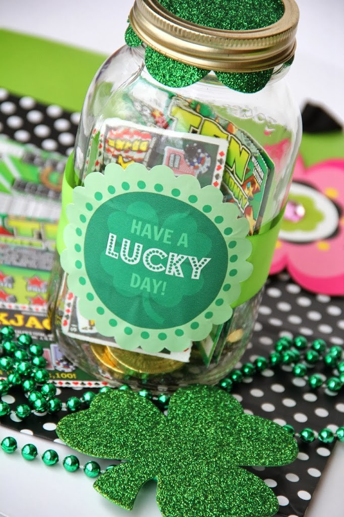 Lucky Day Mason Jar Gift by Bitz & Giggles