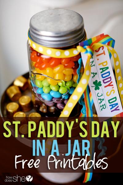 Rainbow St. Patrick's Day Printables