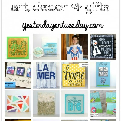 20 Cool Canvas Projects
