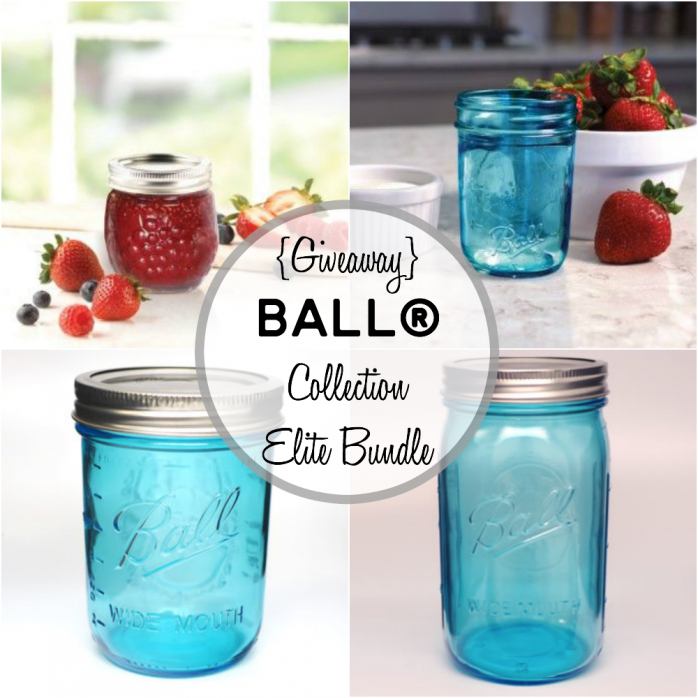 Ball Collection Elite Bundle Giveaway featuring the newest mason jars!