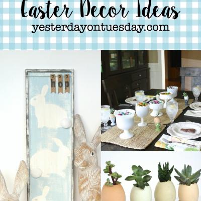 Lovely Neutral Easter Decor Ideas