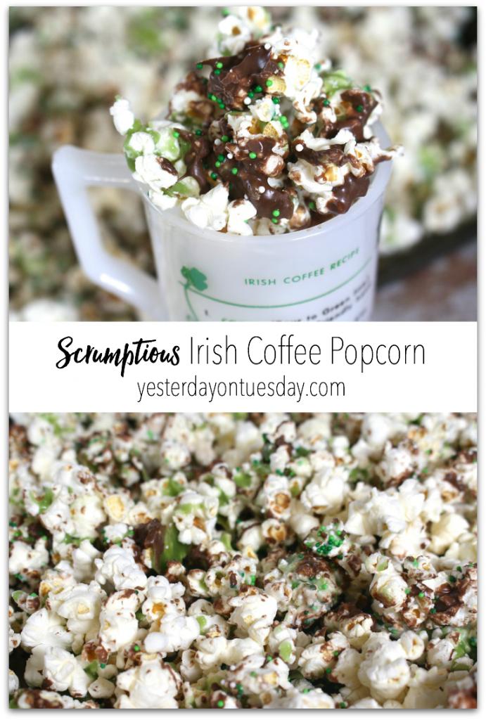 Scrumptious Irish Coffee Popcorn: How to make scrumptious Irish Coffee Flavored Popcorn