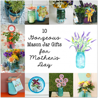 Mother's Day Mason Jar Tags & Gift