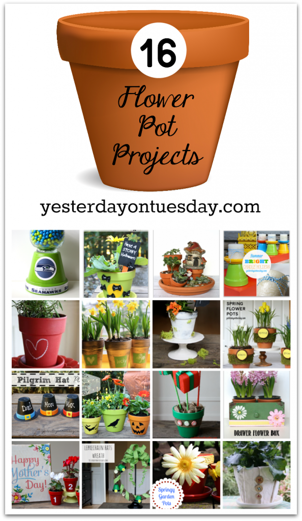 16 Flower Pot Projects for Every Season