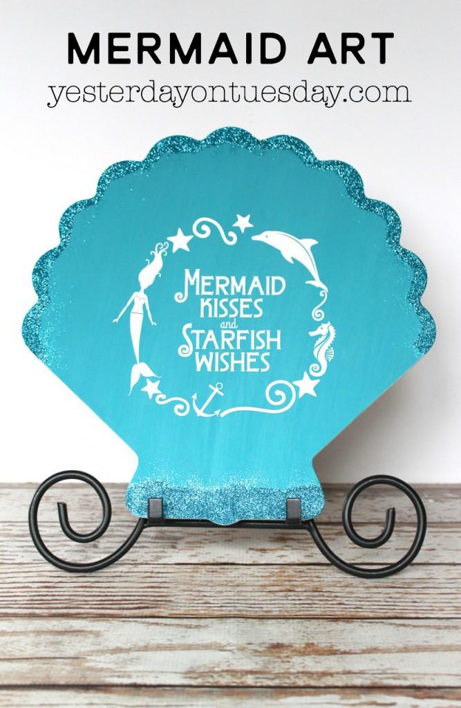 DIY Mermaid Art