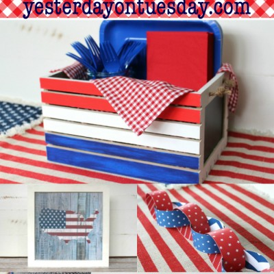 Red, White and Blue Patriotic Projects