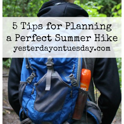 5 Tips for Planning a Perfect Summer Hike