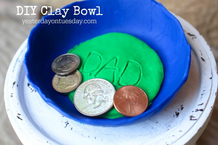 DIY Clay Bowl for Father's Day