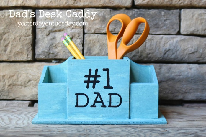 DIY Dad's Desk Caddy