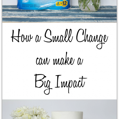 How a Small Change Can Make a Big Impact