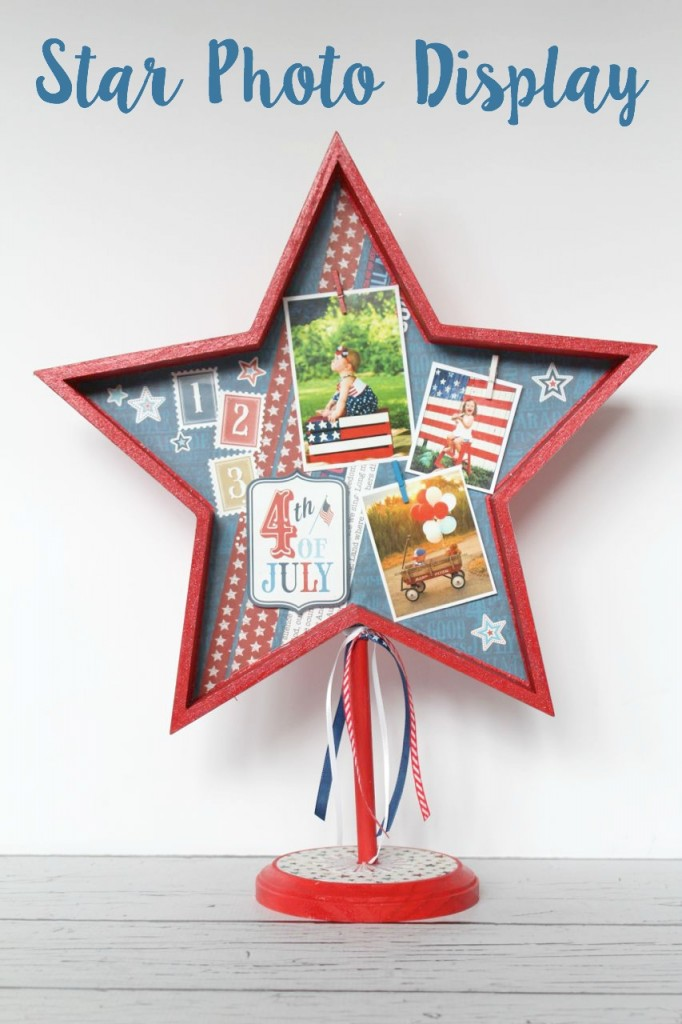DIY Star Photo Display