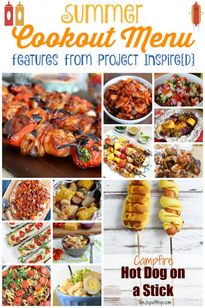 Summer Cookout Menu Ideas