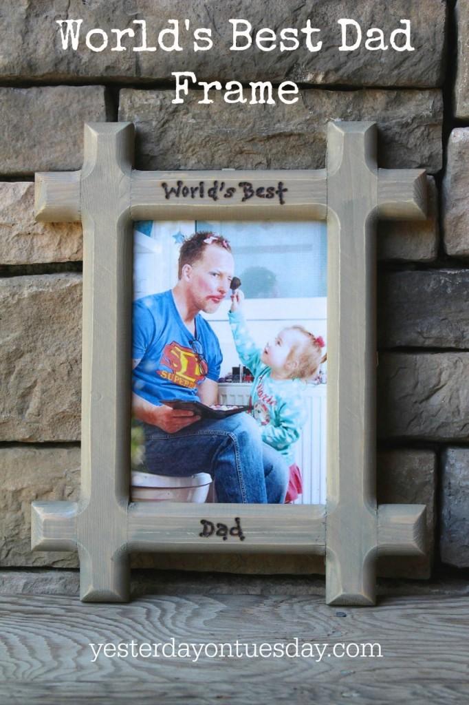 World's Best Dad Frame