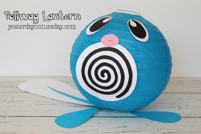 Poliwag Lantern: Great for a Pokemon party
