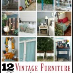 12 Vintage Furniture Transformations, great decor ideas!