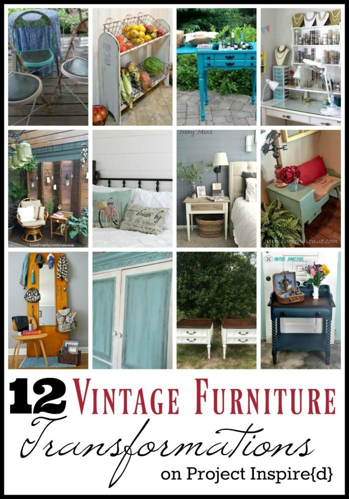 12 Vintage Furniture Transformations, great decor ideas!