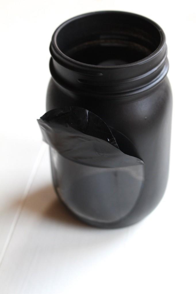 Cute Crow Mason Jar Gift: Fun fall decor or present idea!