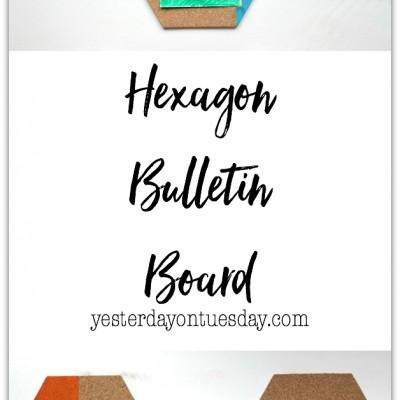 Hexagon Bulletin Board
