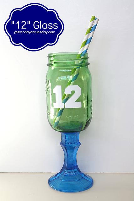 12 Glass Mason Jar