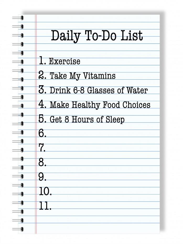 Daily To-Do List Printable